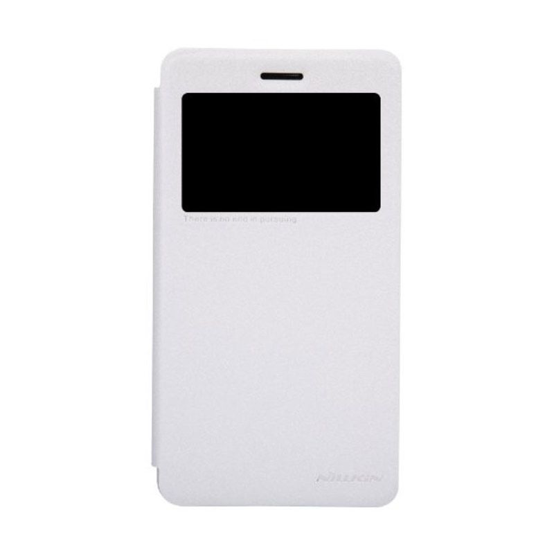Nillkin Sparkle Leather White Casing for Lenovo S860