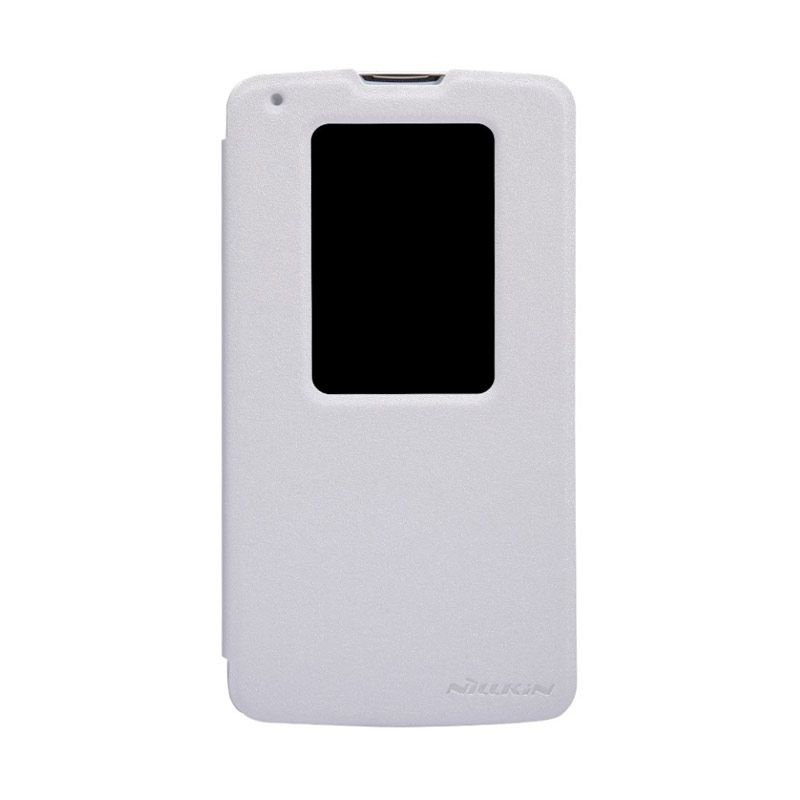 NILLKIN Sparkle Leather White Casing for LG G2 Mini D618