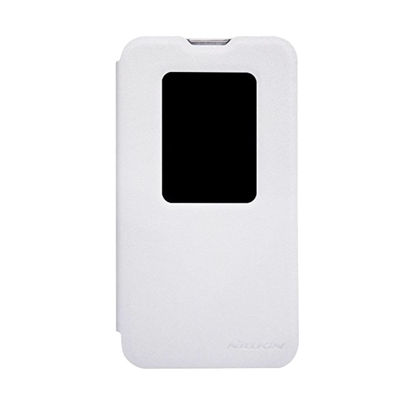 Nillkin Sparkle Leather White Casing for LG L70 D320 or D325