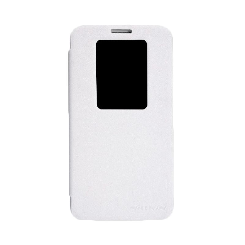 Nillkin Sparkle Leather White Casing for LG Optimus G2 D802