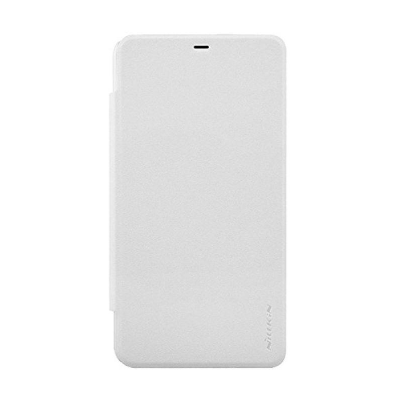 Nillkin Sparkle Leather White Casing for Nokia Lumia 640 XL
