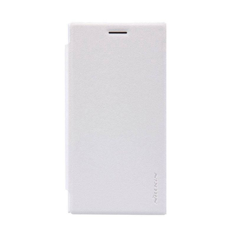 Nillkin Sparkle Leather White Casing for Lumia 730