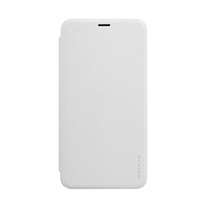 Nillkin Sparkle Leather White Casing for Meizu M2 Note