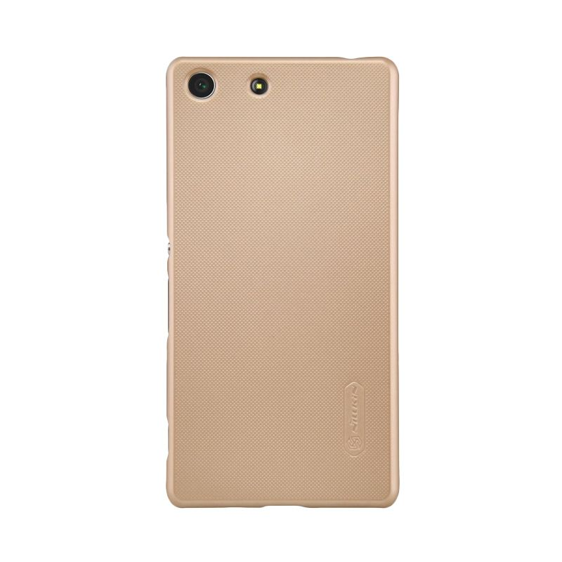 Nillkin Super Frosted Gold Casing for Sony Xperia M5