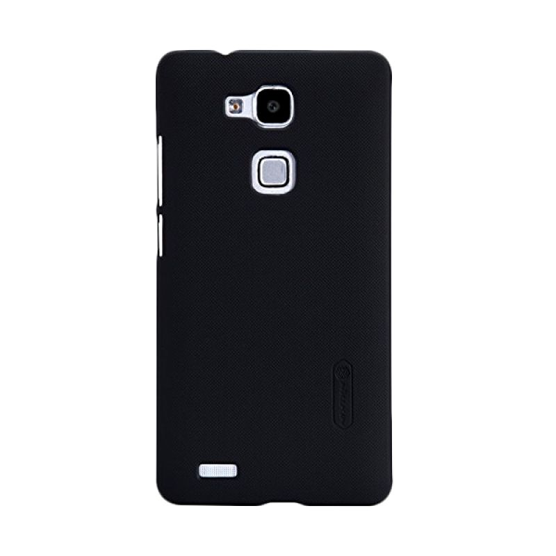 Nillkin Super Frosted Shield Black Casing for Huawei Ascend Mate 7