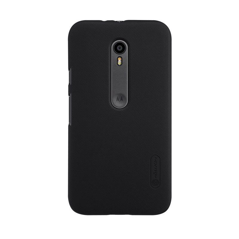 NILLKIN Super Frosted Shield Black Casing for Motorola Moto G3 XT1550