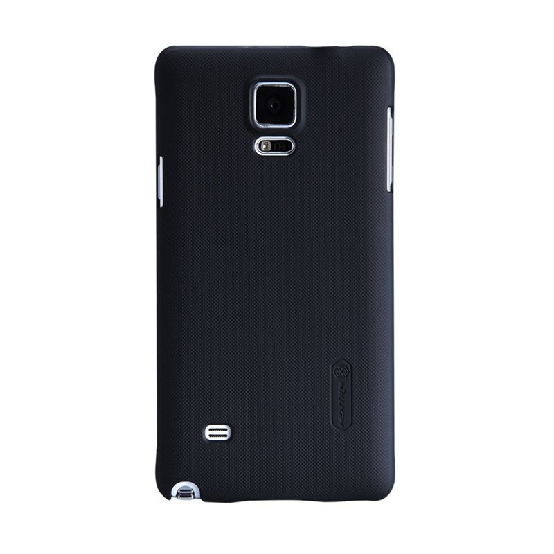 Nillkin Super Frosted Shield Black Casing for Samsung Galaxy Note 4