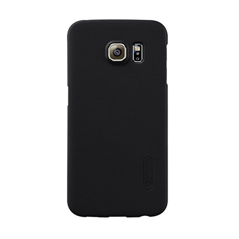 Nillkin Super Frosted Shield Black Casing for Samsung Galaxy S6 Edge G925