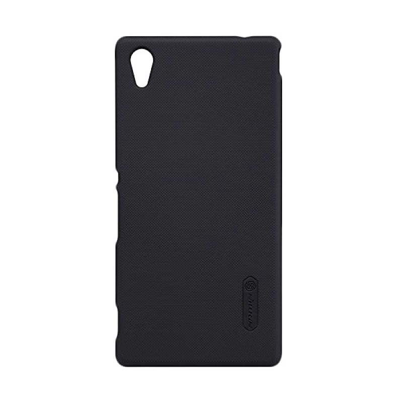 Nillkin Super Frosted Shield Black Casing for Sony Xperia M4 Aqua