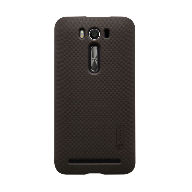 NILLKIN Super Frosted Shield Brown Casing for Asus Zenfone 2 Laser ZE500KL
