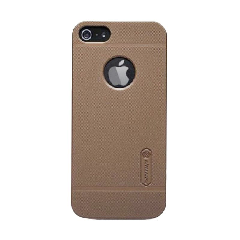 Nillkin Super Frosted Shield Brown Casing for iphone 5 or 5s
