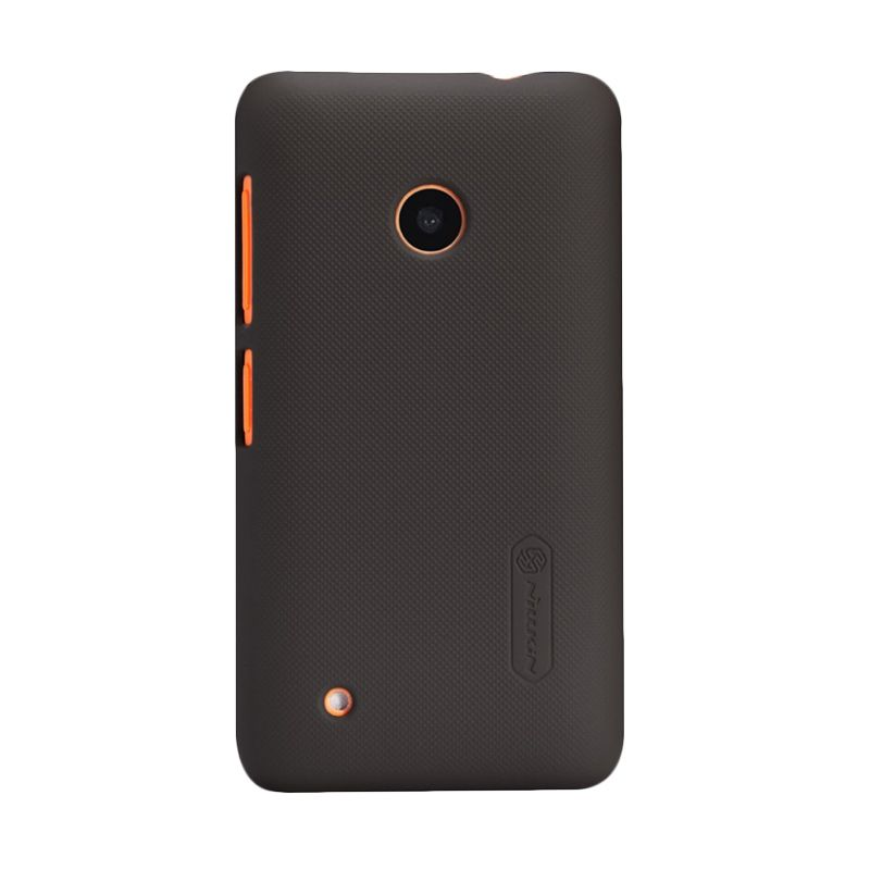 Nillkin Super Frosted Shield Brown Casing for Nokia Lumia 530