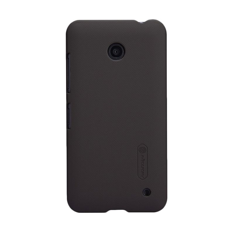 Nillkin Super Frosted Shield Brown Casing for Nokia Lumia 630