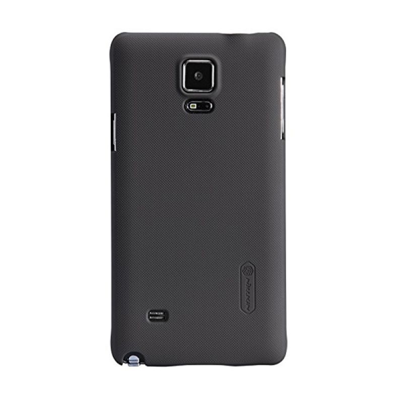 Nillkin Super Frosted Shield Brown Casing for Samsung Galaxy Note 4
