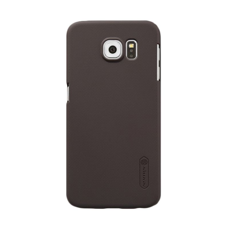 Nillkin Super Frosted Shield Brown Casing for Samsung Galaxy S6