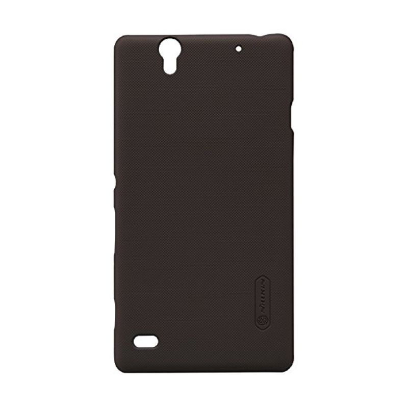 Nillkin Super Frosted Shield Brown Casing for Sony Xperia C4