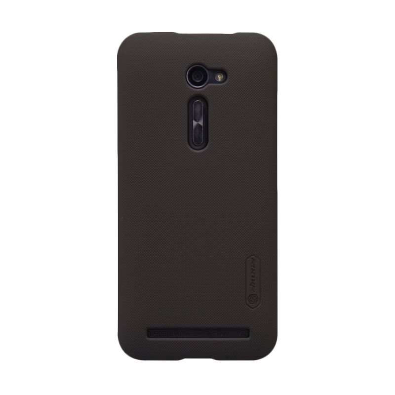 Nillkin Super Frosted Shield Coklat Casing for Asus Zenfone 2 5 ZE500CL + Screen Protector