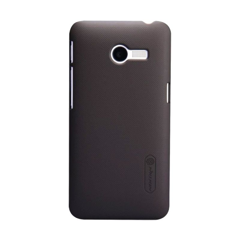 Nillkin Super Frosted Shield Coklat Casing for Asus Zenfone 4 1600 + Screen Protector