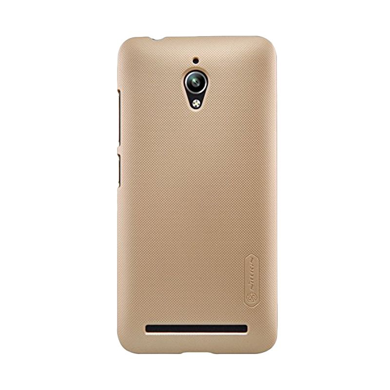 Nillkin Super Frosted Shield Gold Casing for Asus Zenfone Go ZC500TG