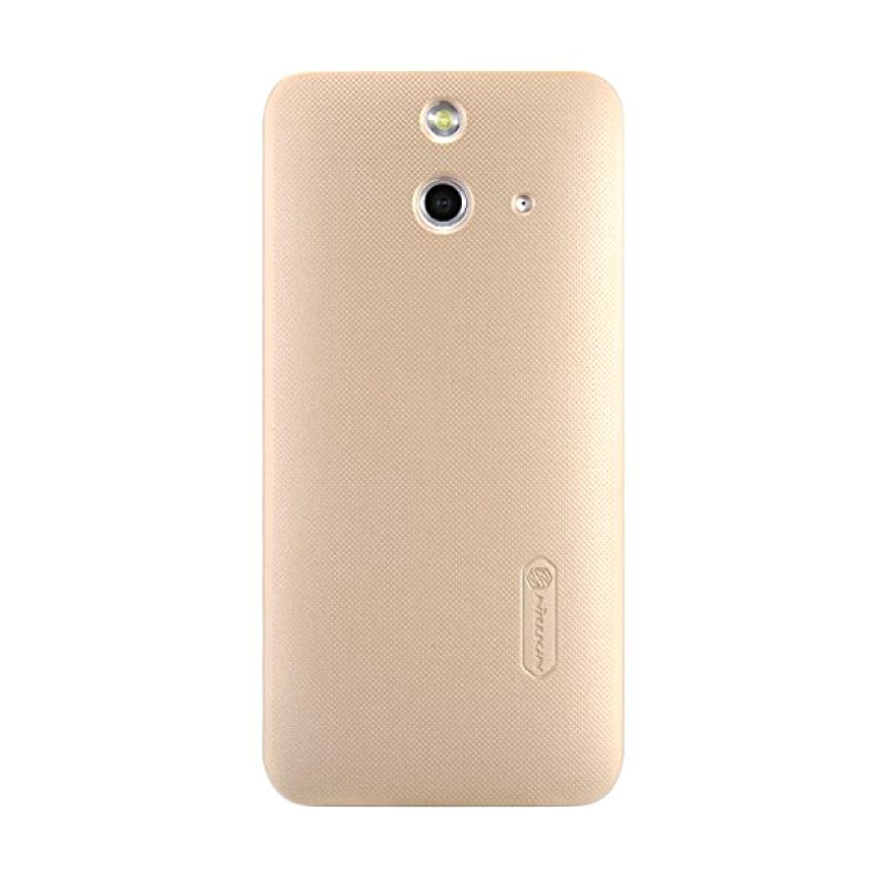 Nillkin Super Frosted Shield Gold Casing for HTC One E8
