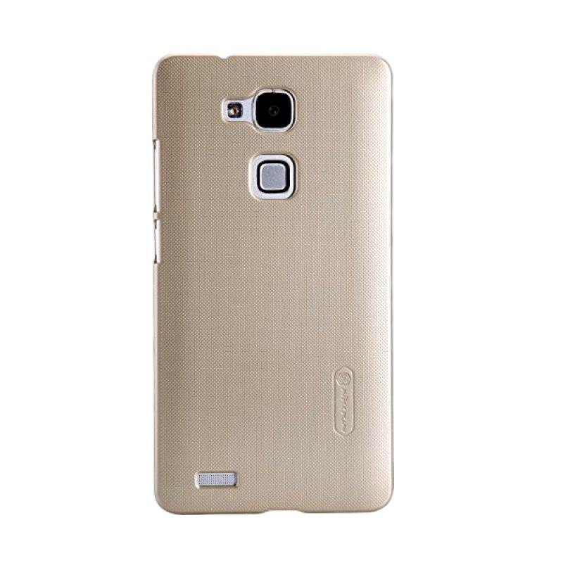 Nillkin Super Frosted Shield Gold Casing for Huawei Ascend Mate 7