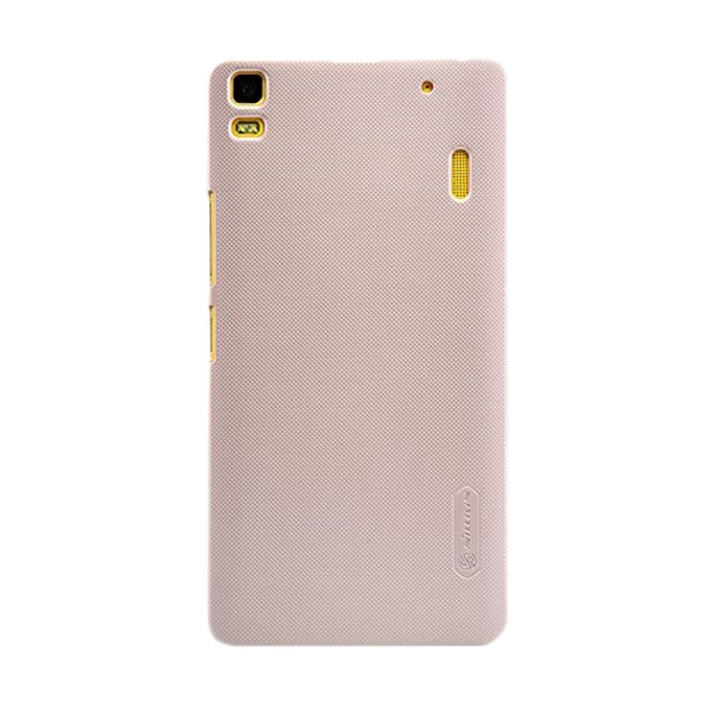 Nillkin Super Frosted Shield Gold Casing for Lenovo K3 Note A7000