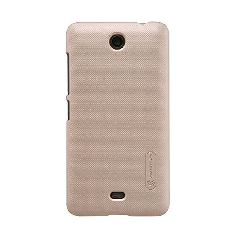 Nillkin Super Frosted Shield Gold Casing for Nokia Lumia 430