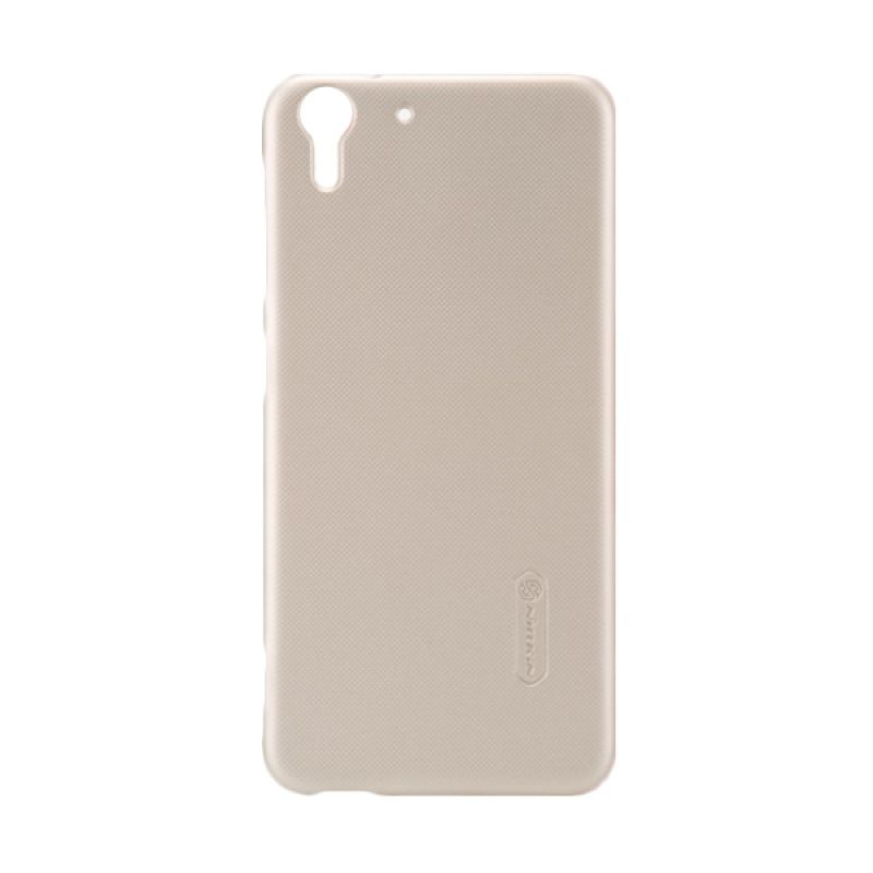 Nillkin Super Frosted Shield Gold Casing for Nokia Lumia 435