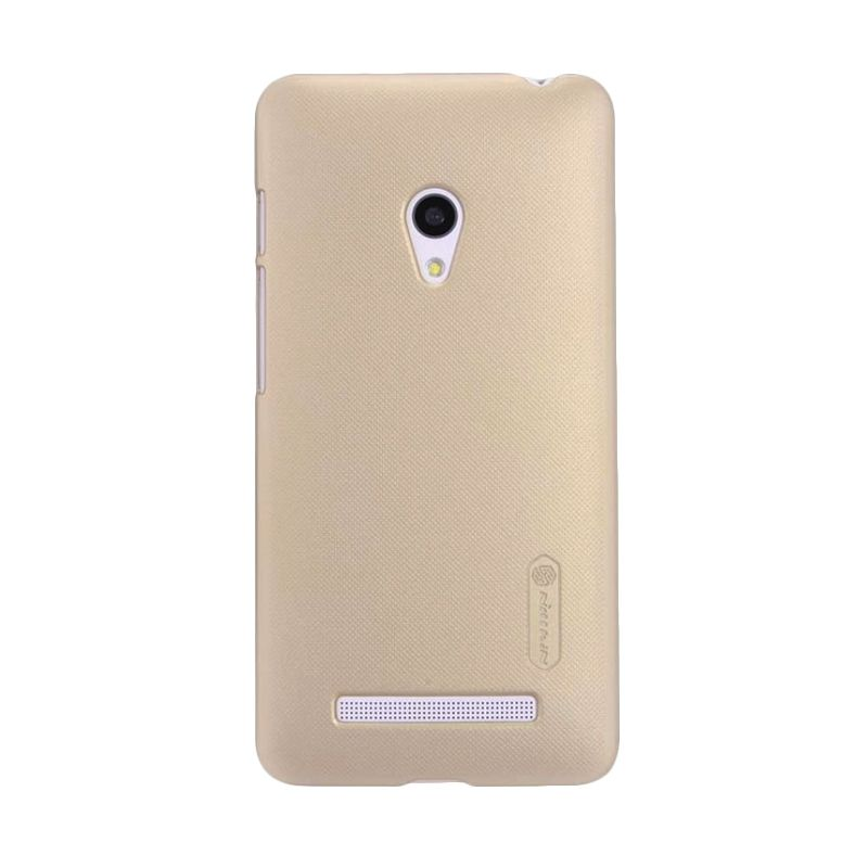 Nillkin Super Frosted Shield Gold Casing for Nokia Lumia 630