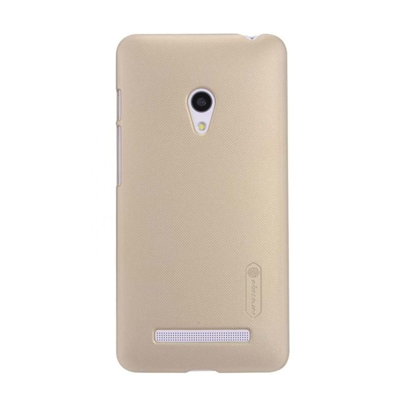 Nillkin Super Frosted Shield Gold Casing for Nokia Lumia 830