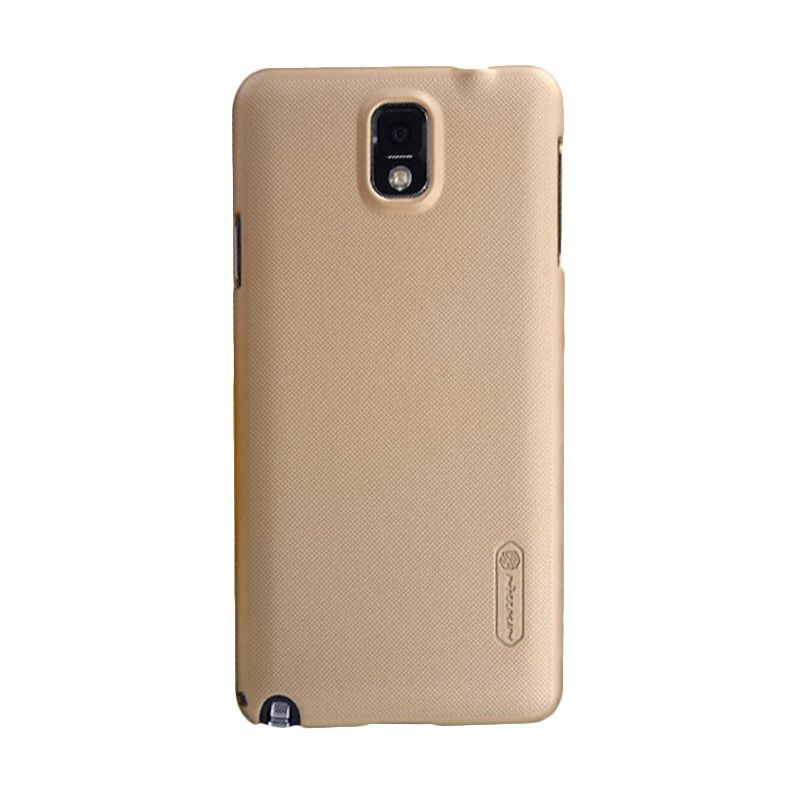 Nillkin Super Frosted Shield Gold Casing for Samsung Galaxy Note 3