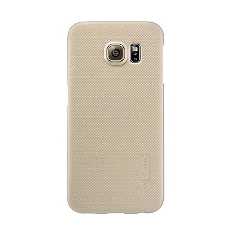 Nillkin Super Frosted Shield Gold Casing for Samsung Galaxy S6 Edge G925