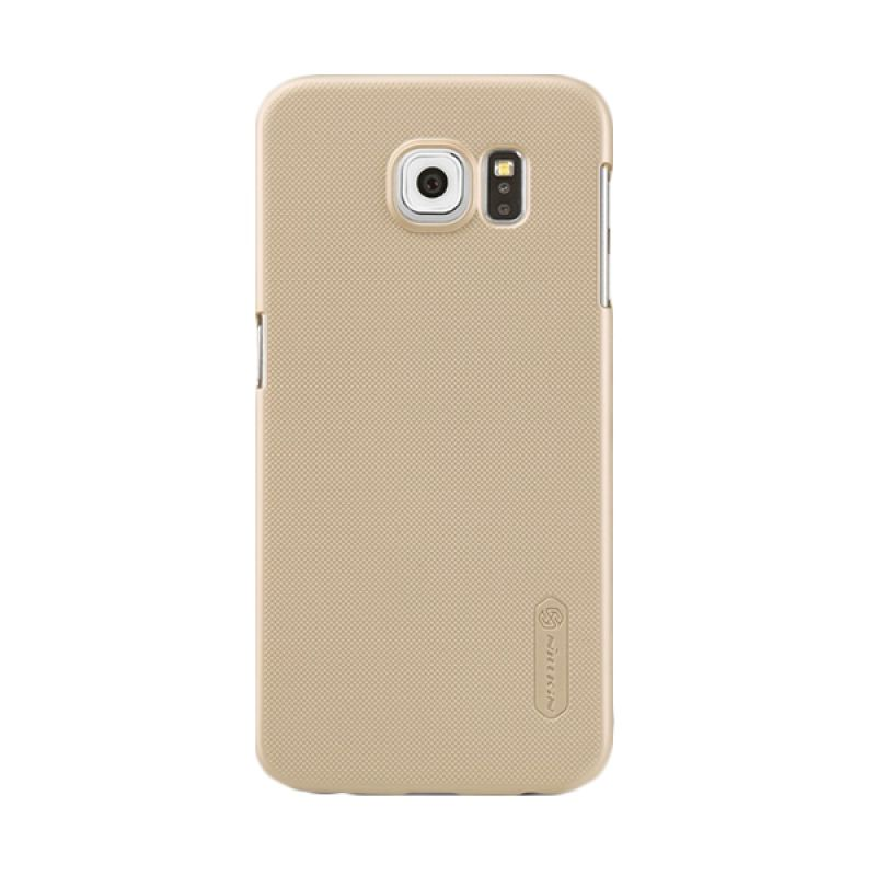 Nillkin Super Frosted Shield Gold Casing for Samsung Galaxy S6