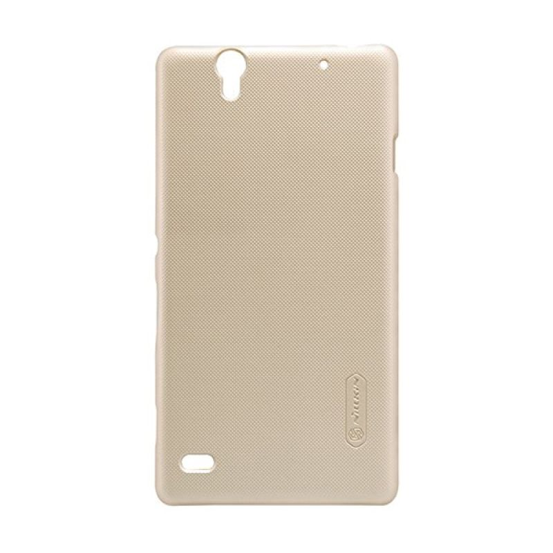 Nillkin Super Frosted Shield Gold Casing for Sony Xperia C4