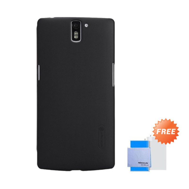 Nillkin Super Frosted Shield Hitam Casing for OnePlus One