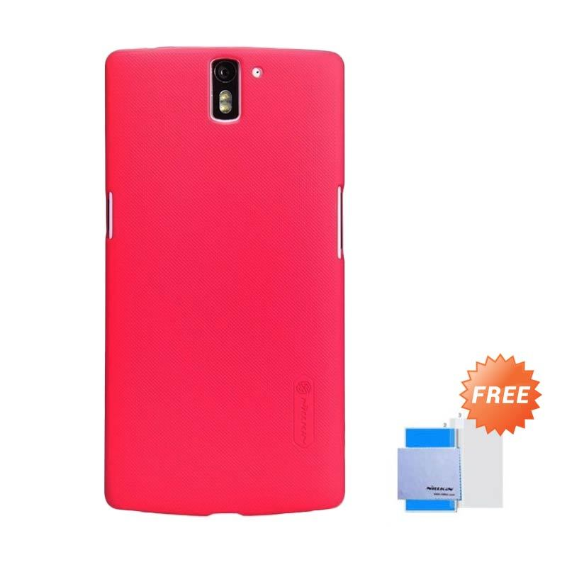 Nillkin Super Frosted Shield Merah Casing for OnePlus One