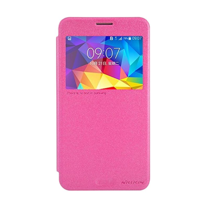 Nillkin Super Frosted Shield Pink Casing for Samsung Galaxy Mega 2 G7508