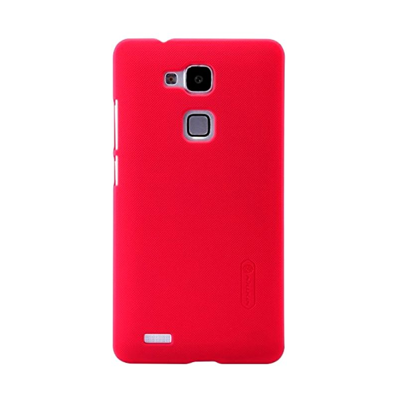 Nillkin Super Frosted Shield Red Casing for Huawei Ascend Mate 7