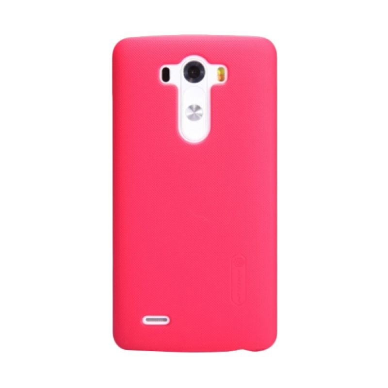 Nillkin Super Frosted Shield Red Casing for LG Optimus G3