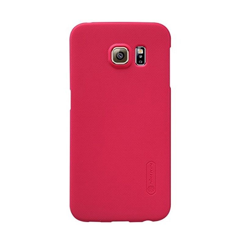 Nillkin Super Frosted Shield Red Casing for Samsung Galaxy S6 Edge G925