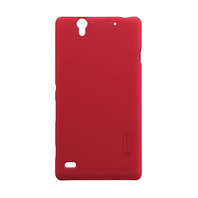 Nillkin Super Frosted Shield Red Casing for Sony Xperia C4
