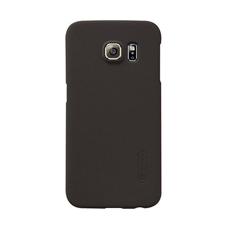 Nillkin Super Frosted Shield Brown Casing for Samsung Galaxy S6 Edge G925