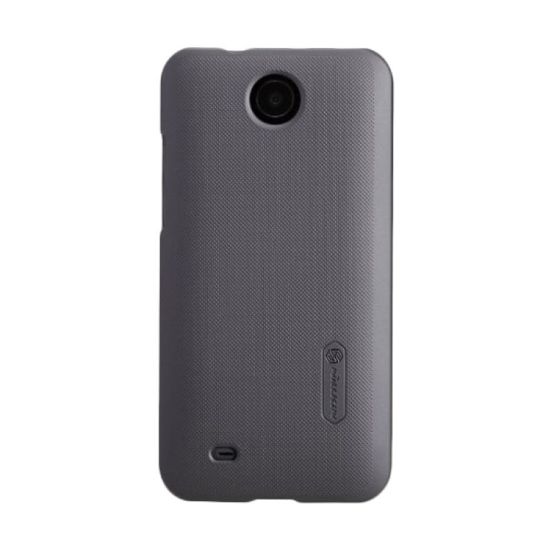 Nillkin Super Frosted Shield Hitam Casing For HTC Desire 300 + Screen Protector