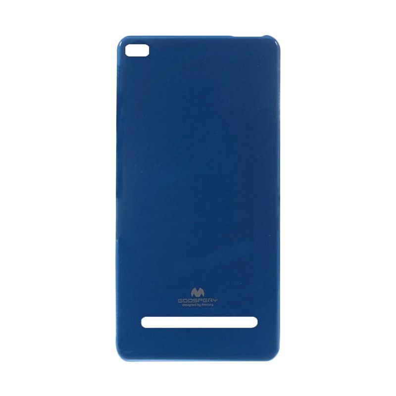 Mercury Goospery Jelly Glitter Blue Casing for Xiaomi Mi4i