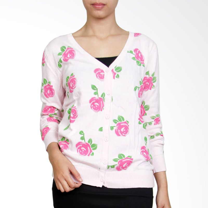 Gaia RS Pink Cardigan