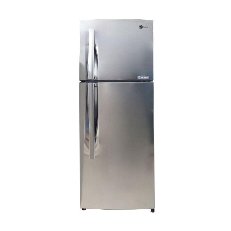 LG Two Door Refrigerator Gnb202Rlcl Kulkas [2 Pintu] [Free Ongkir Jadetabek, Surabaya, Malang]