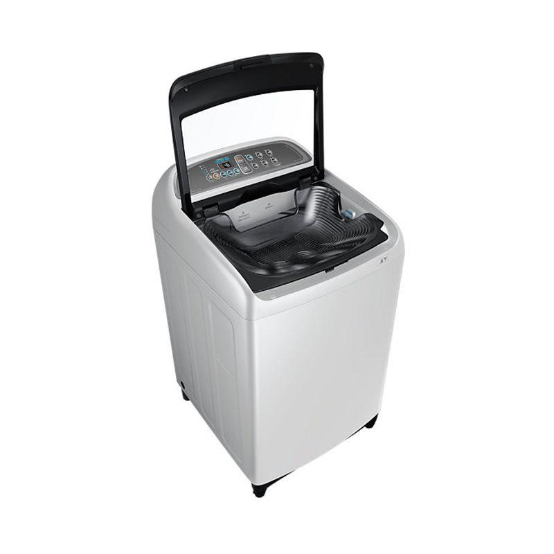 Samsung WA95J5710SG Putih Top Load Mesin Cuci