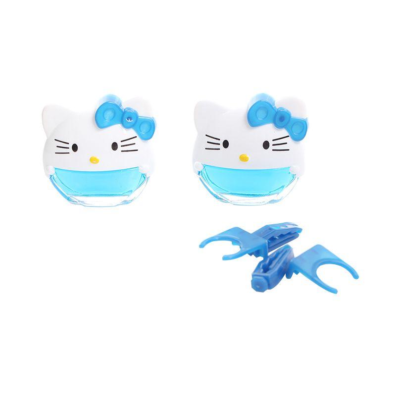 Galva Hello Kitty Biru Parfum Mobil [2 Set]