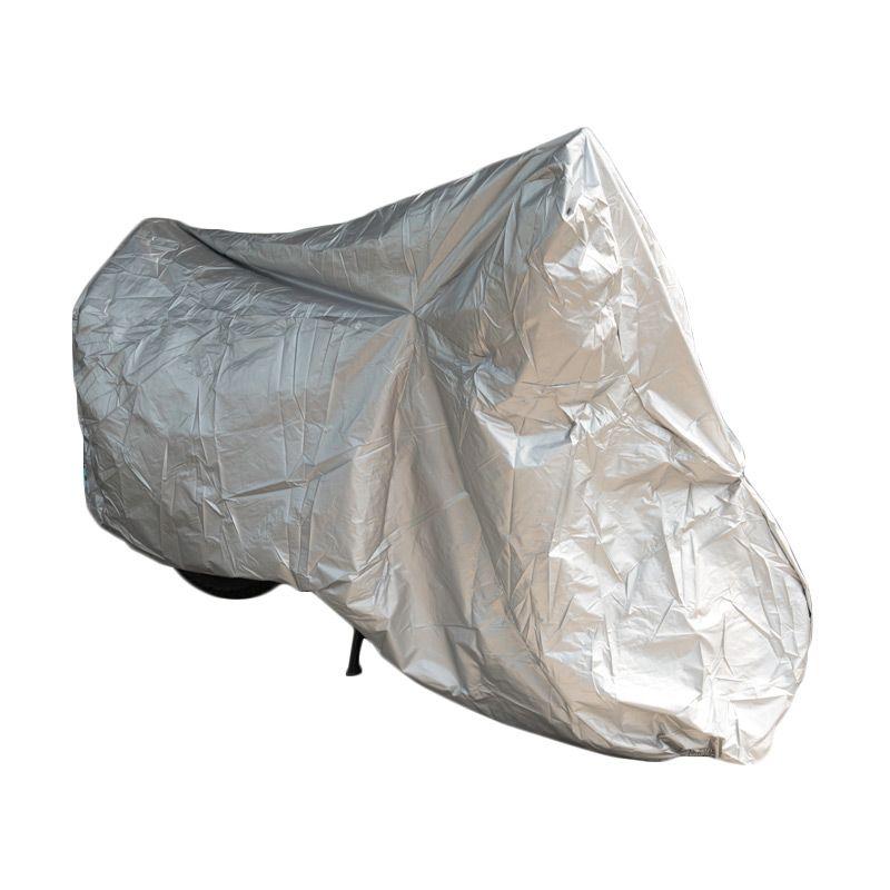 Galva Silver Body Cover Motor Bebek