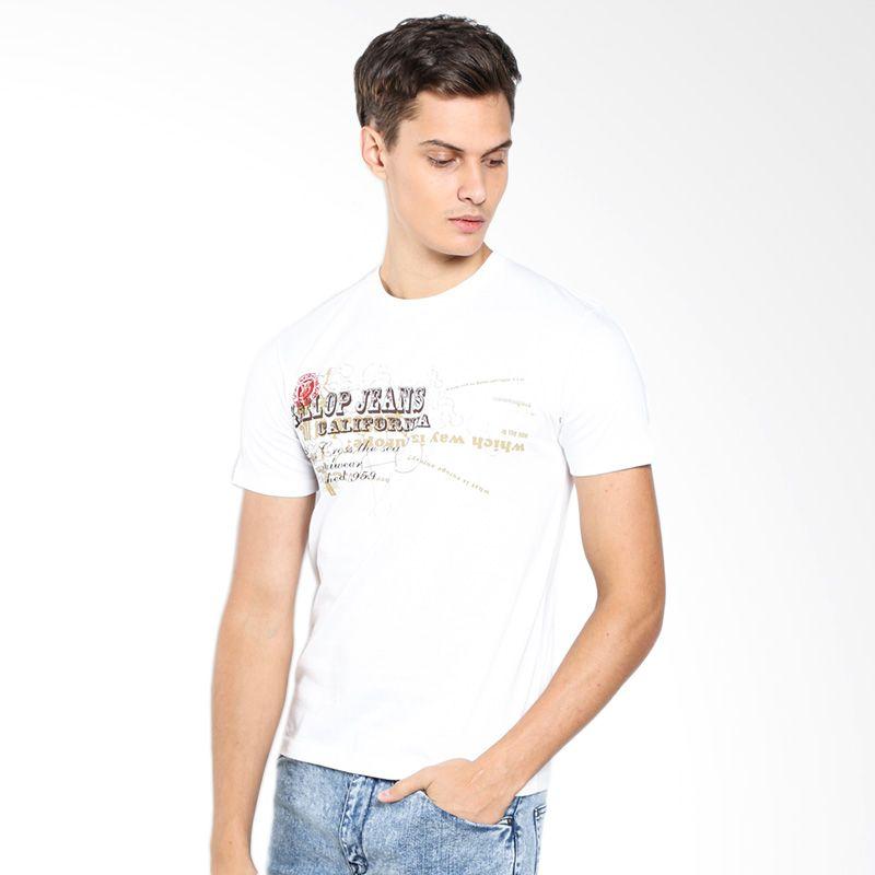 Gallop Jeans California A11884CB White T-Shirt